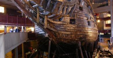El buque de guerra más antiguo que se conserva