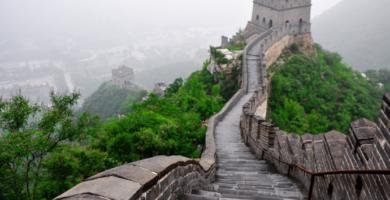 La fastuosidad de la Gran Muralla China