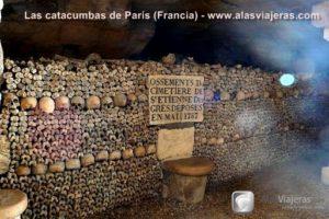 Las catacumbas de París (Francia)