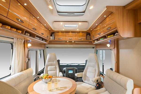 Hymer star line b 690 una caravana de lujo por m s de 100 - Interior caravanas decoracion fotos ...