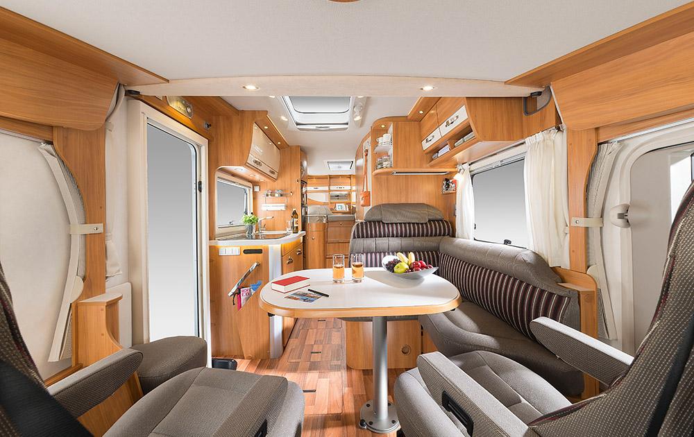 Hymer star line b 690 una caravana de lujo por m s de 100 - Interiores de caravanas ...